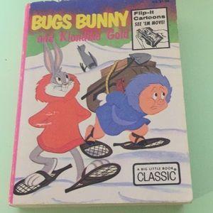 Big Little Book Bugs Bunny and Klondike Gold